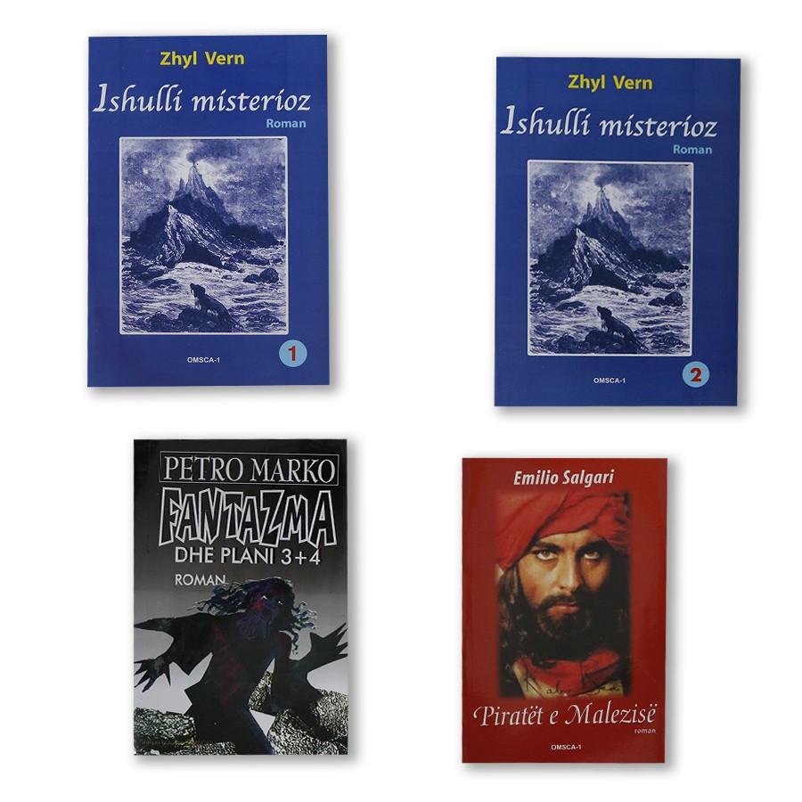 Në ishullin e fantazive me piratët set 4 libra