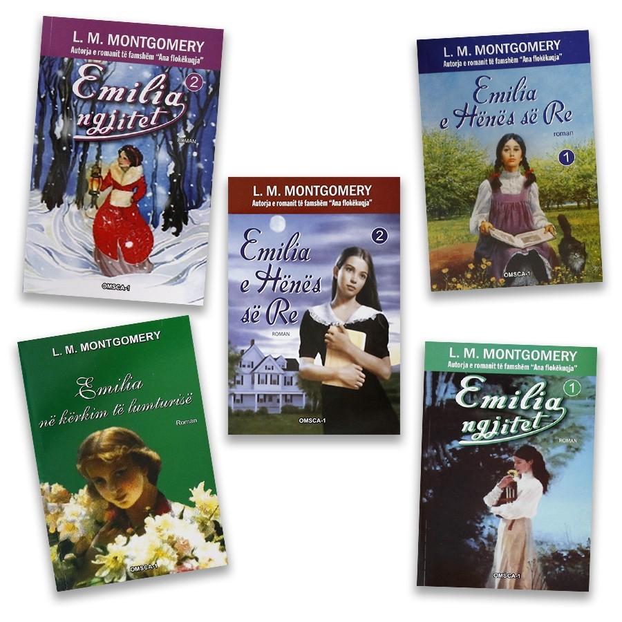 Historitë e Emilias, set me 5 libra