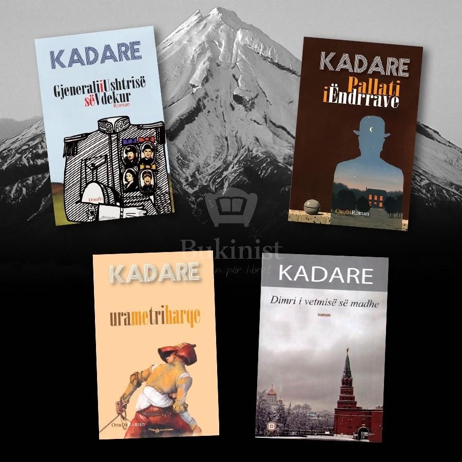 Katër majat romanore të Ismail Kadaresë – set 4 libra