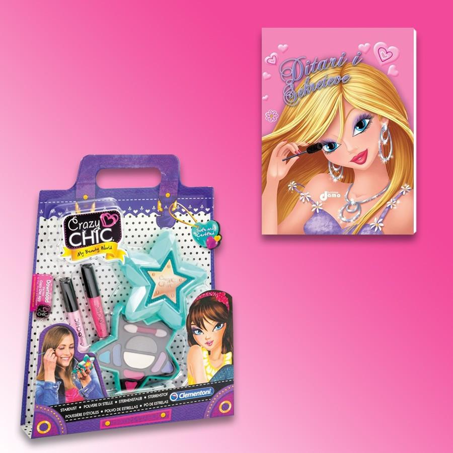 Make-Up Crazy Chic Polvere Di Stelle Clementoni + Ditari I Sekreteve