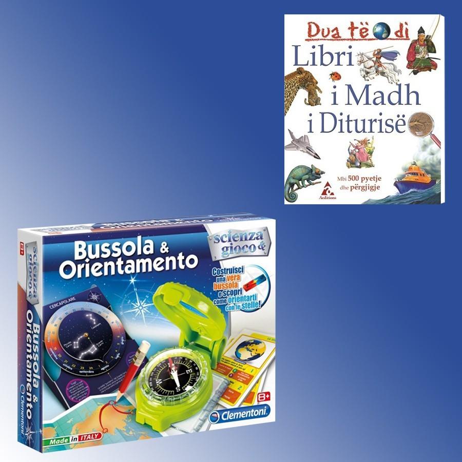 Loder Bussola & Orientamento Clementoni + Libri I Madh I Diturisë