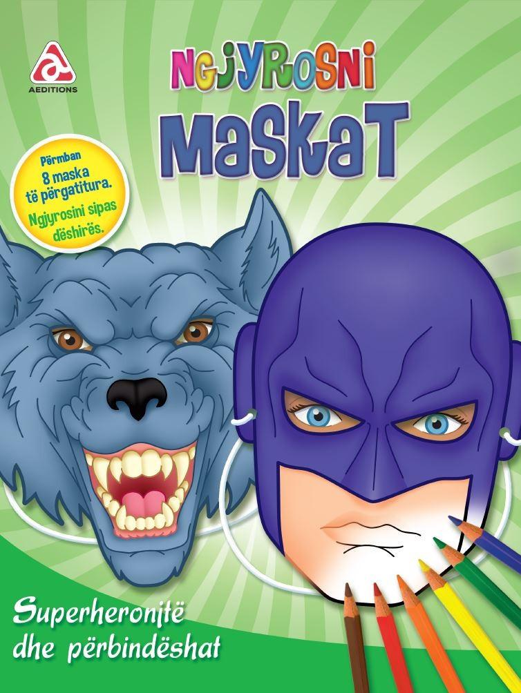 Ngjyrosni maskat - Superheronjtë