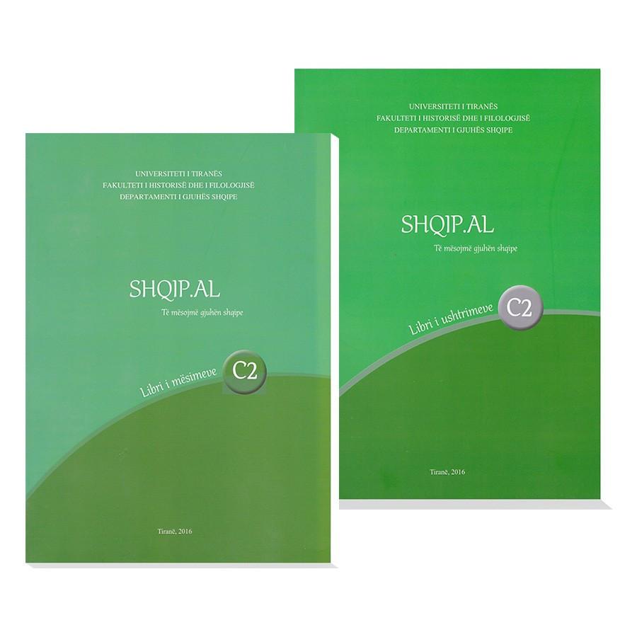 """Metoda """"Të mësojmë gjuhën shqipe """"Shqip.al"""" - Niveli C2"""