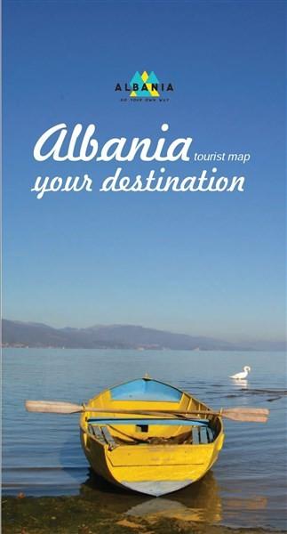 Harta turistike e Shqipërisë – destinacioni juaj