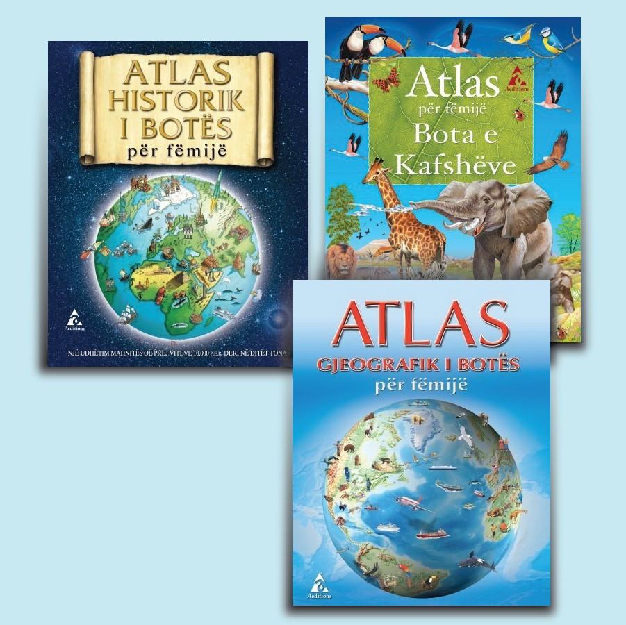 """Seti """"Atlasët e botës"""""""