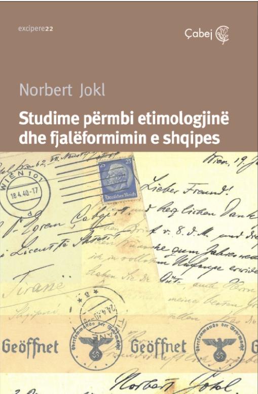 Studime përmbi etimologjinë dhe fjalëformimin e shqipes