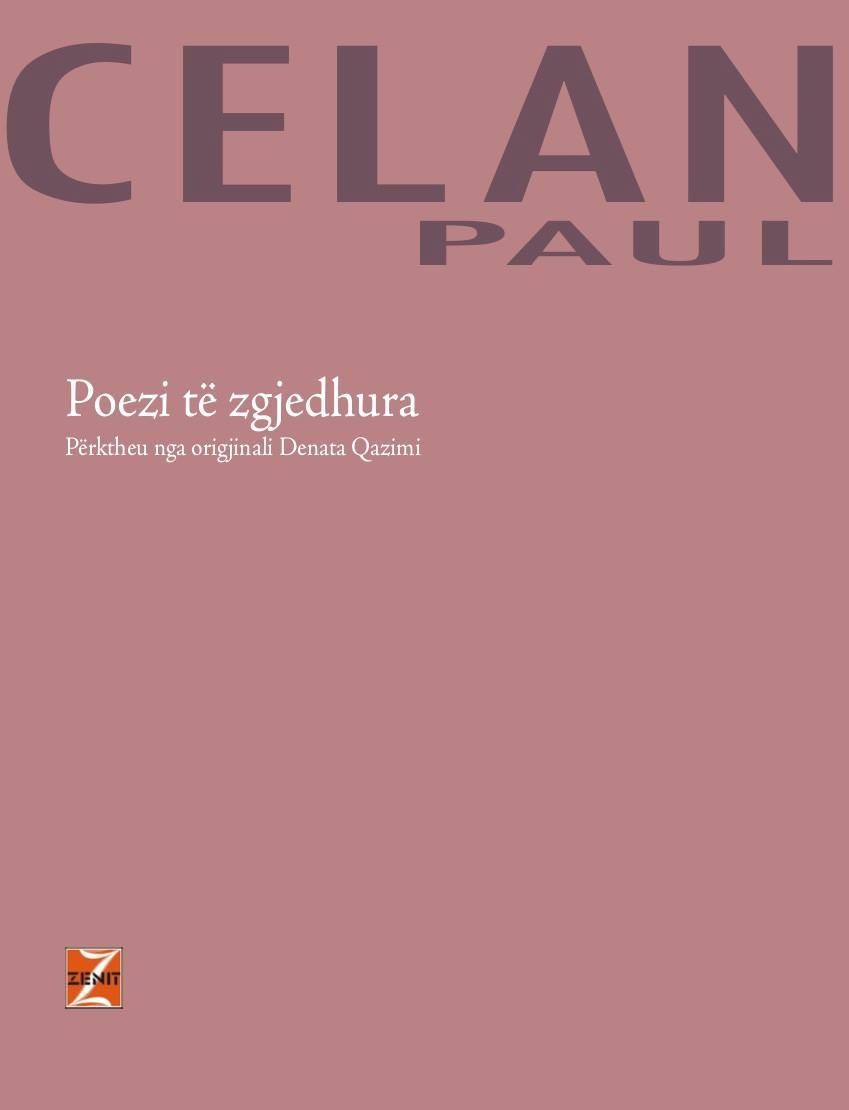 Poezi të zgjedhura, - Paul Celan