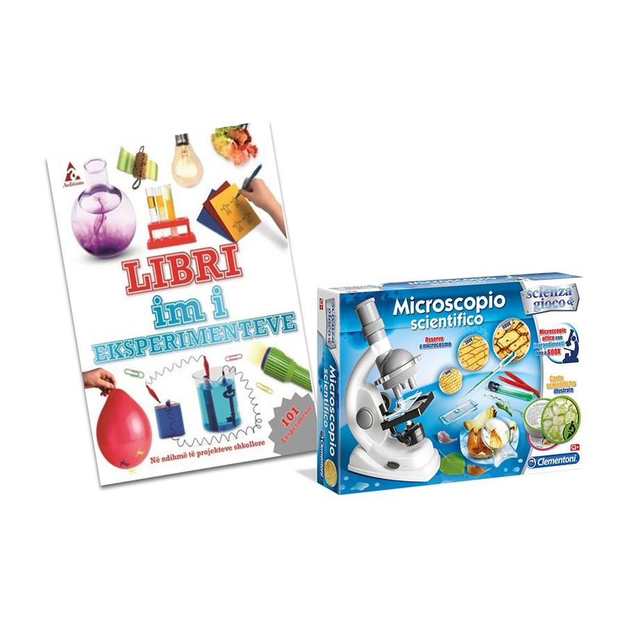 Set Mikroskop + Libri i Eksperimenteve