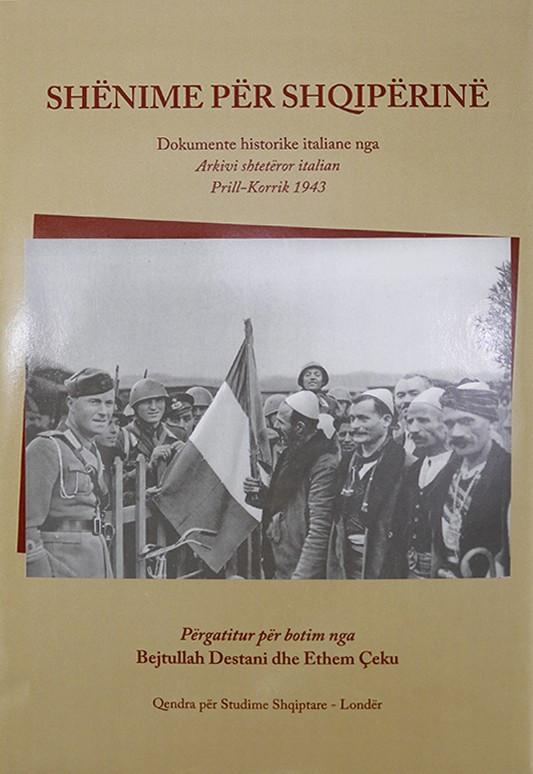 Shënime për Shqipërinë, Arkiva Shtetërore Italiane