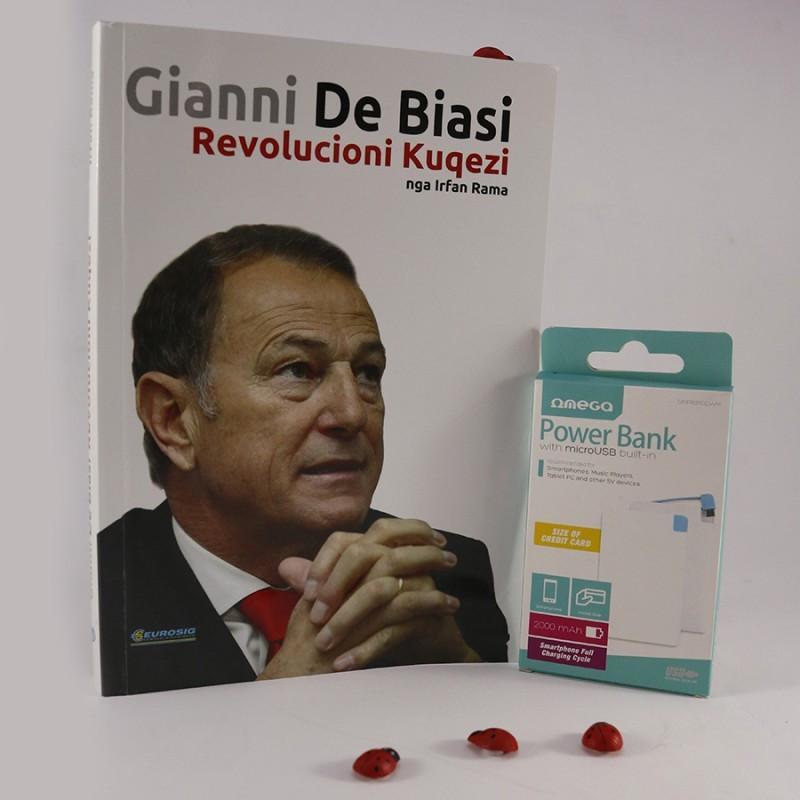 Set, libri Gianni De Biasi dhe bateri e jashtme Omega