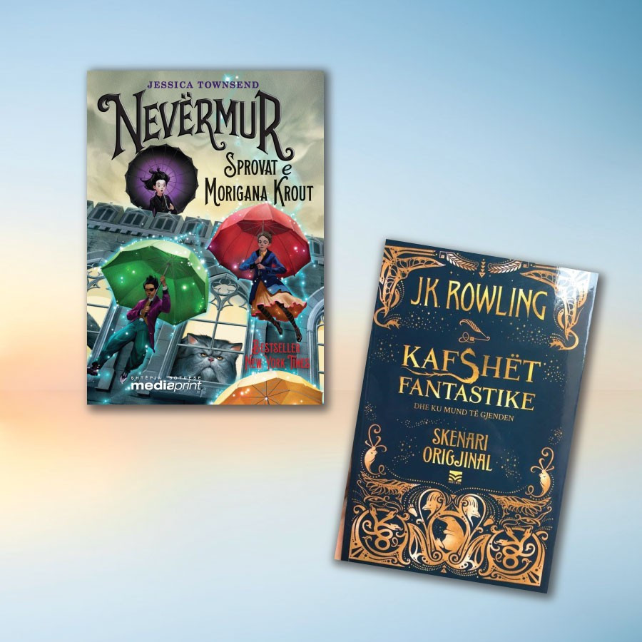Aventura magjie për fëmijë – set me 2 libra