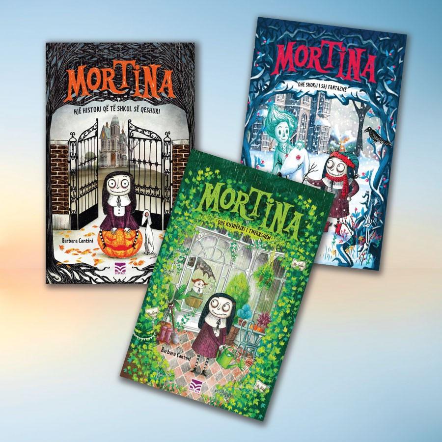 Historitë e vajzës-zombi Mortina – set me 3 libra