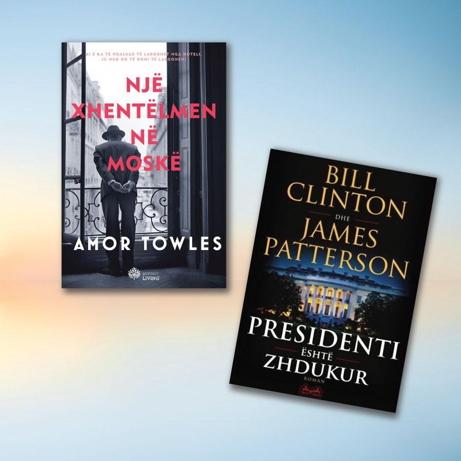 Thrillera politikë – set me 2 libra