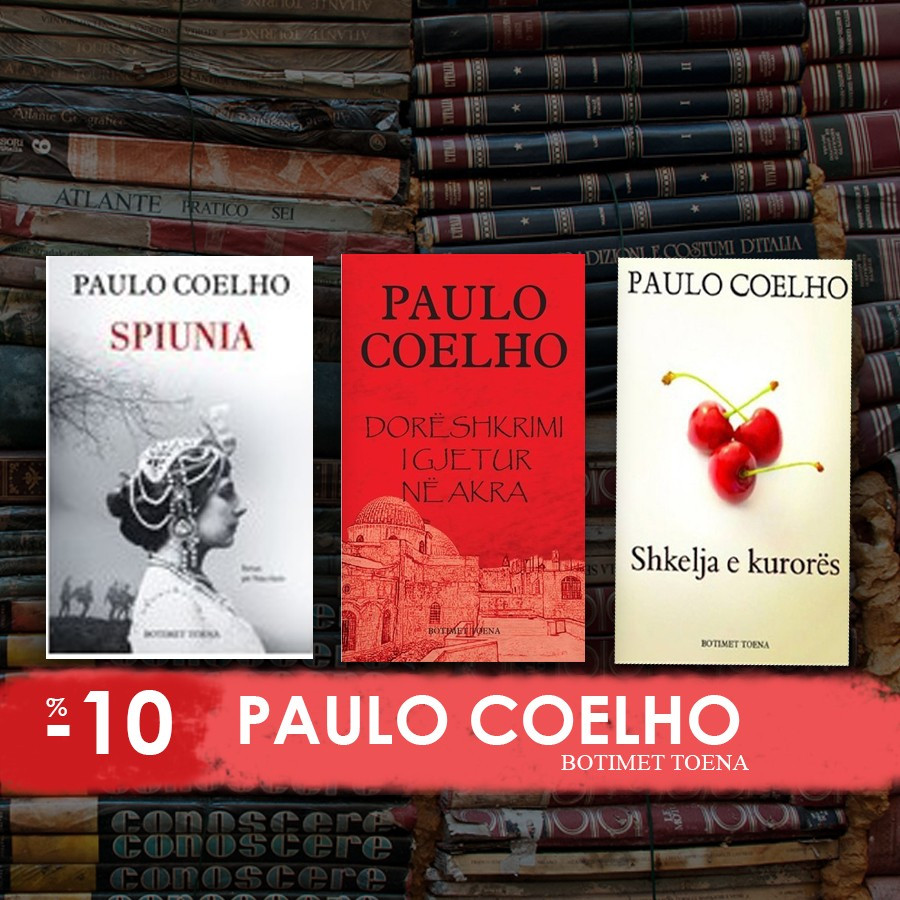 Tre librat e fundit të Coelhos në shqip