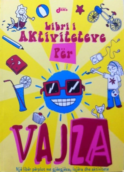 Libri i aktiviteteve për vajza - NS