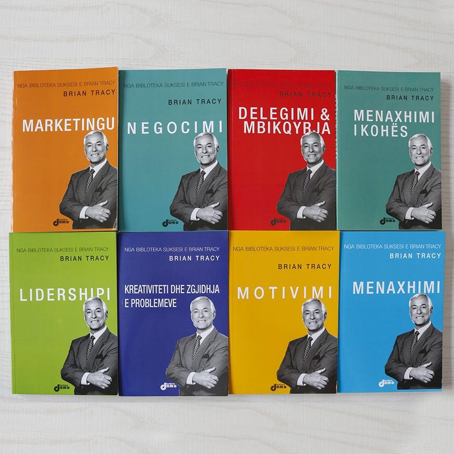 Set 8 libra - Drejtimi suksesshëm i biznesit sipas Brian Tracy