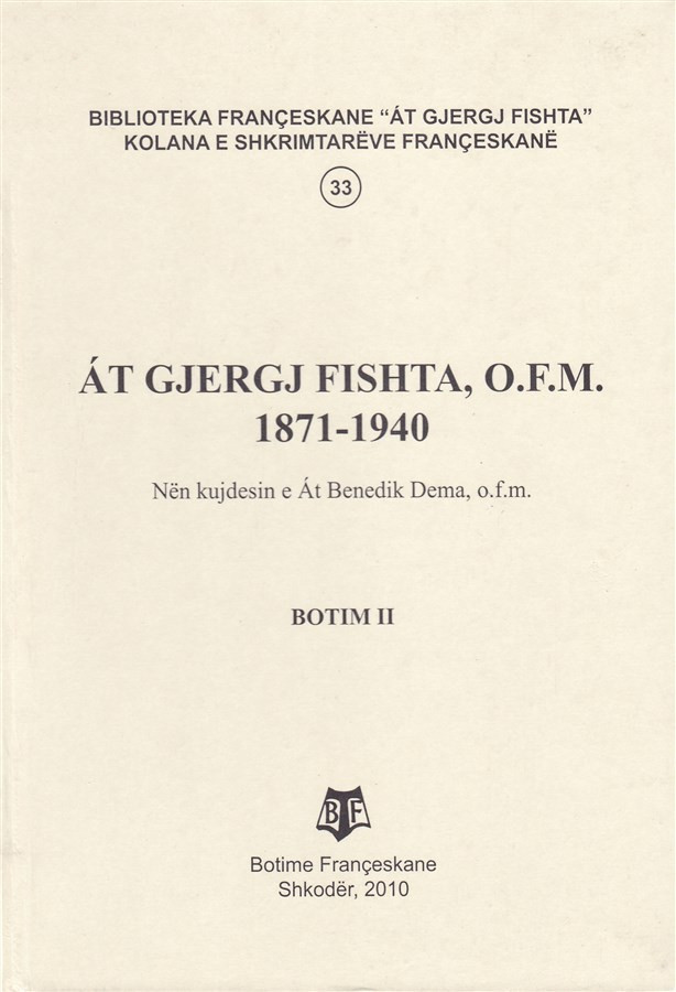 At Gjergj Fishta 1871-1940