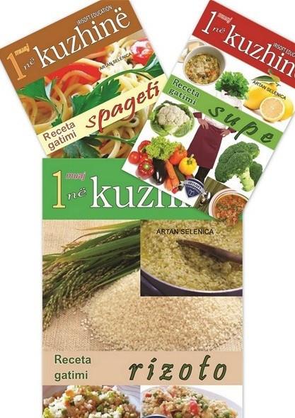 Set me 3 libra, Kuzhina mesdhetare në një muaj: Supa, Rizoto dhe Spageti