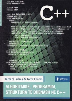 Algoritmikë, Programim, Strukturë të dhënash në C++