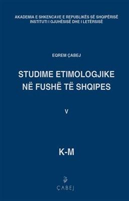 Studime etimologjike në fushë të shqipes, bleu V