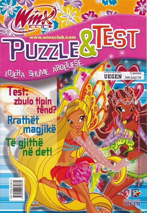 Winx- Puzzle, zbulo tipin tënd