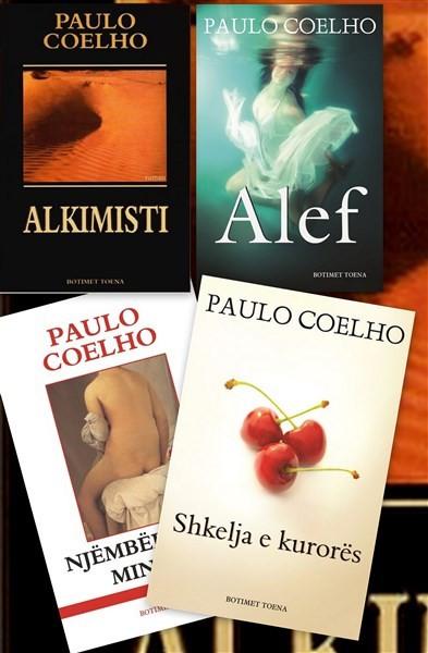 Set 4 libra, Magjia e Paulo Coelhos, dhurata ideale e festave