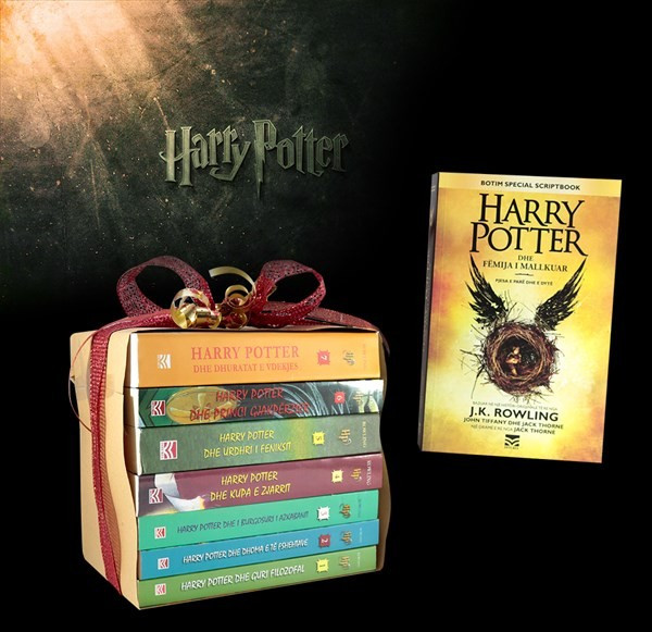 Set 8 libra, Harry Potter i pashmangshëm
