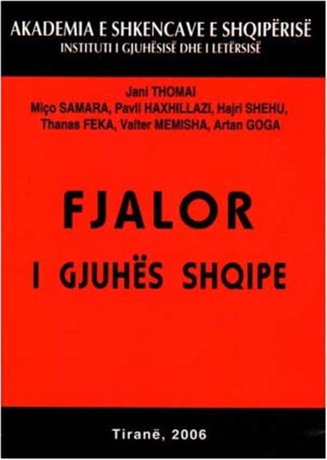 Fjalor i gjuhës shqipe