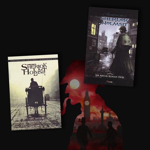 Të gjitha Aventurat e Sherlok Holms-it – set 2 libra
